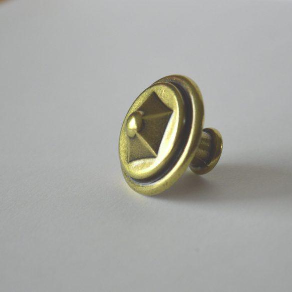 Fém bútorfogantyú, fényes bronz színű