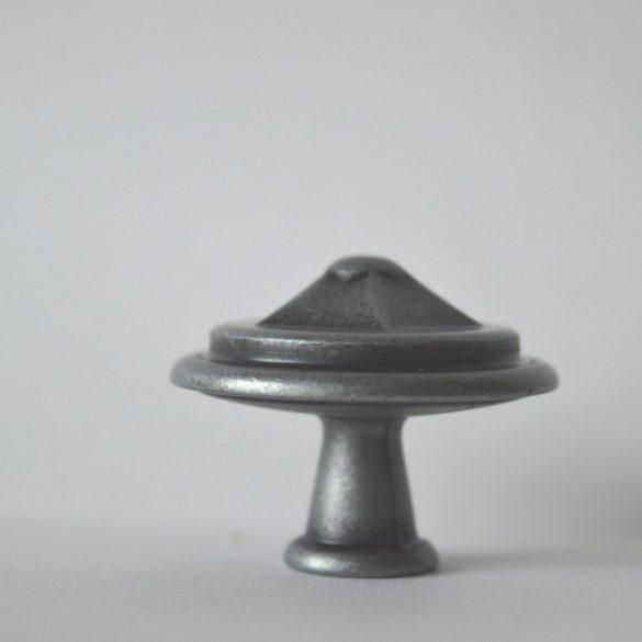 Metal furniture knob, antique black