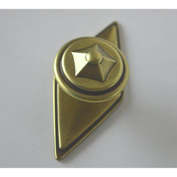 Matt bronze metal furniture knob