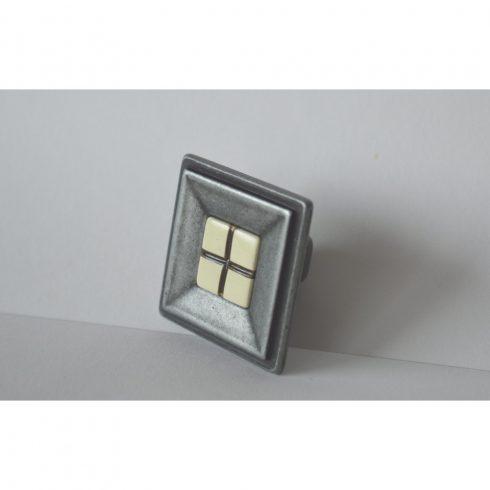 Metallsockel Möbelknopf Möbelgriff Schrankgriff Schubladengriff aus Kunststoff