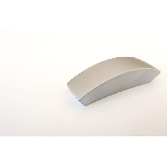 Setan metal furniture handle, satin chrome, 32 mm hole spacing