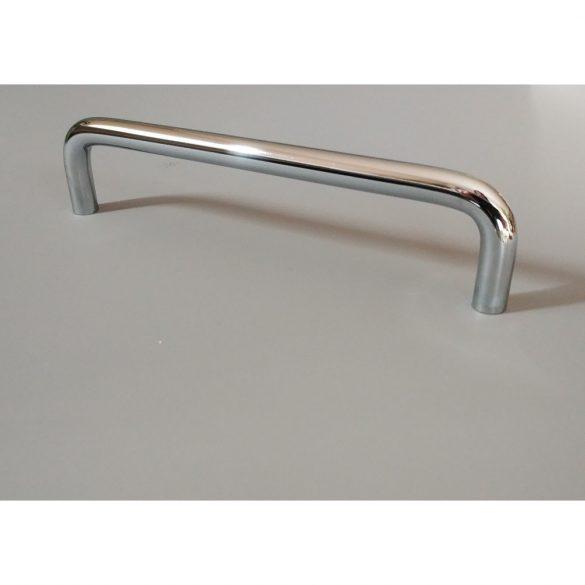 IDA fém bútorfogantyú, fényes króm színű, 96 mm furattávval