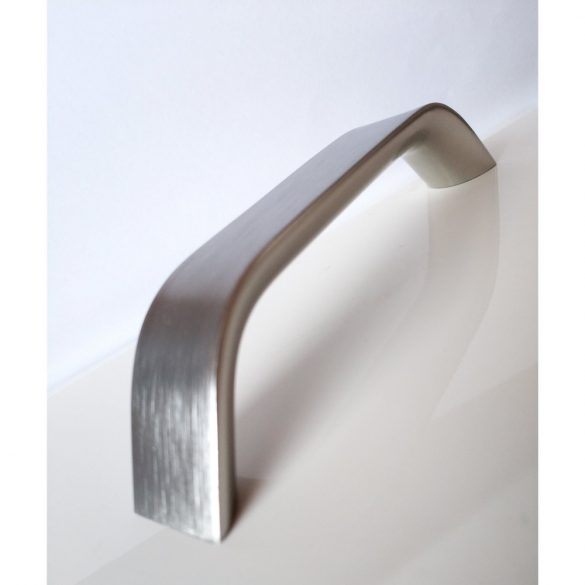 SCALA fém bútorfogantyú, nemesacél színű, 128 mm furattávval