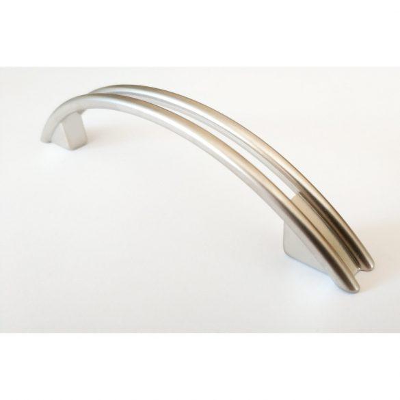 FIONA metal furniture handle, satin nickel colour