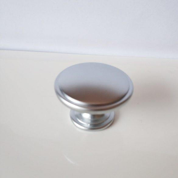RUDA fém, gomb bútorfogantyú, szatén króm színben