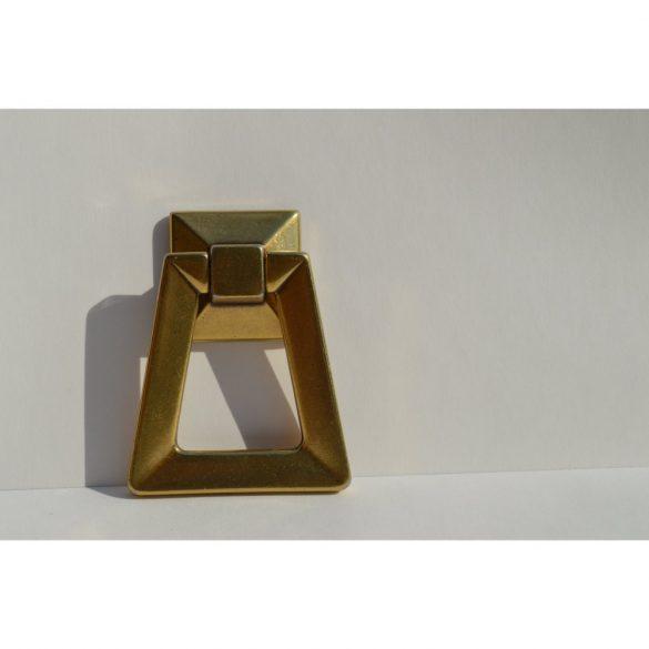 Metal furniture knob, antique French bronze
