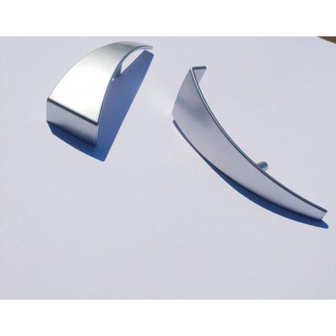 Műanyag bútorfogantyú csomag, Króm színben, 64 mm furattáv