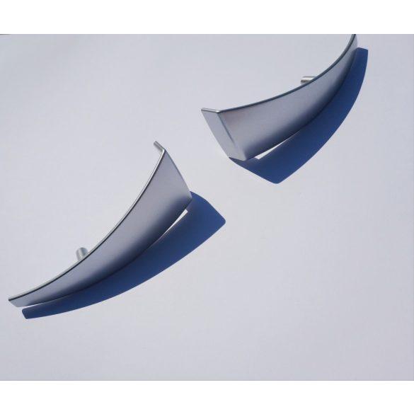 Matt chrome plastic furniture handle