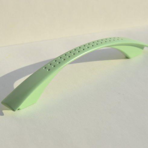 Fém bútorfogantyú, zöld