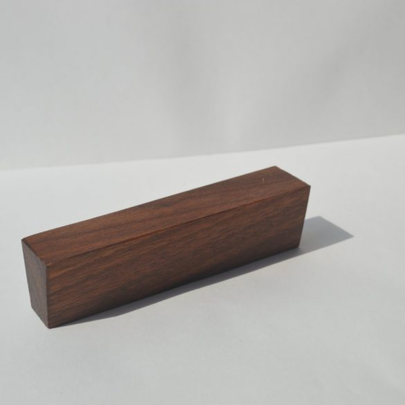 Wooden furniture handle, Oiled Walnut, with 32 and 64 mm hole spacing