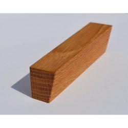 Fa bútorfogantyú, Olajozott Tölgy, 32 és 64 mm furattávval