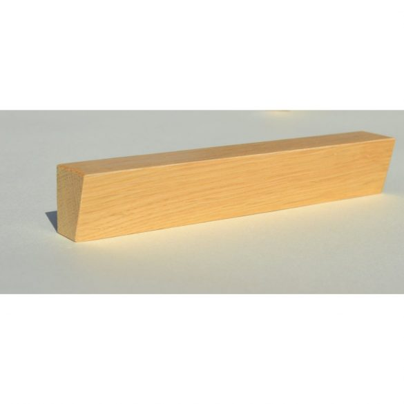 Wooden furniture handles, Lacquered beech, with 64-96-128 mm bore spacing