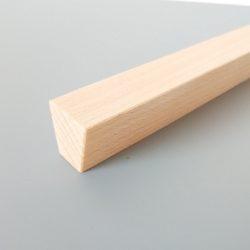 Fa bútorfogantyú, olajozott bükk, 64 - 96 -128 mm furattávval