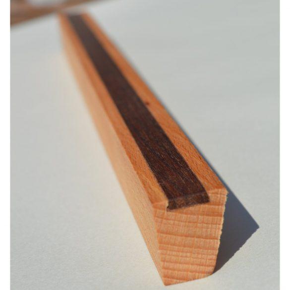 Möbelgriff aus Holz, Eiche und Nussbaum geölt