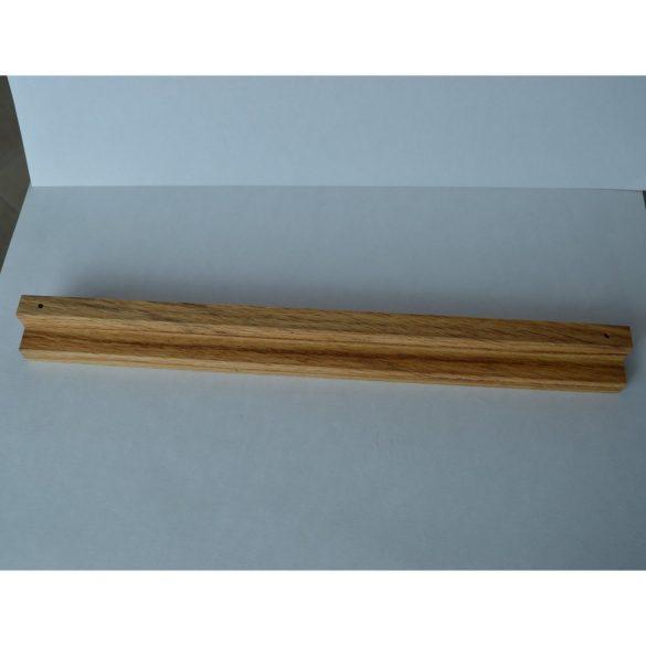 Fa bútorfogantyú, Olajozott Tölgy, 320 mm furattávval