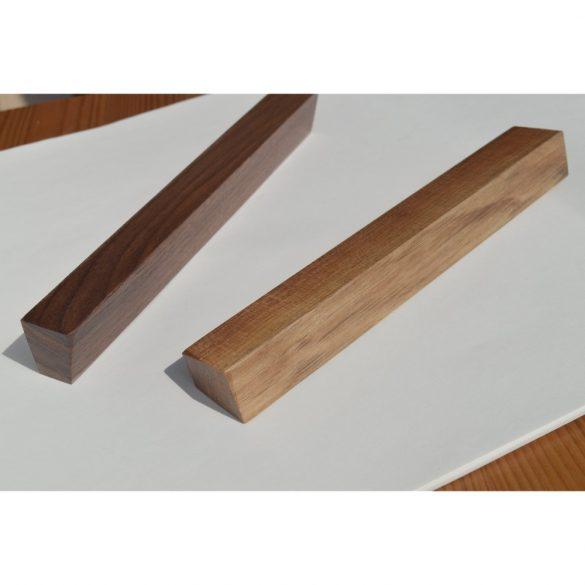 Fa bútorfogantyú, Lakkozott Dió, 128 és 160 mm furattávval