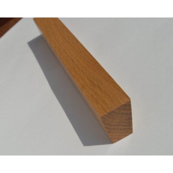 Fa bútorfogantyú, Lakkozott Tölgy, 128 és 160 mm furattávval
