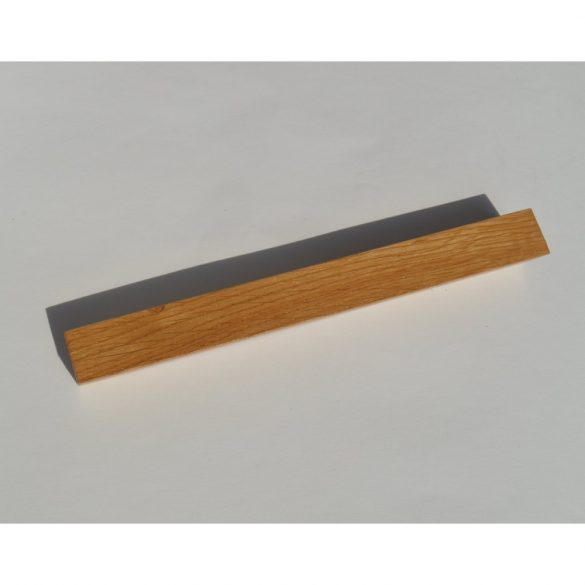 Wooden furniture handle, lacquered oak