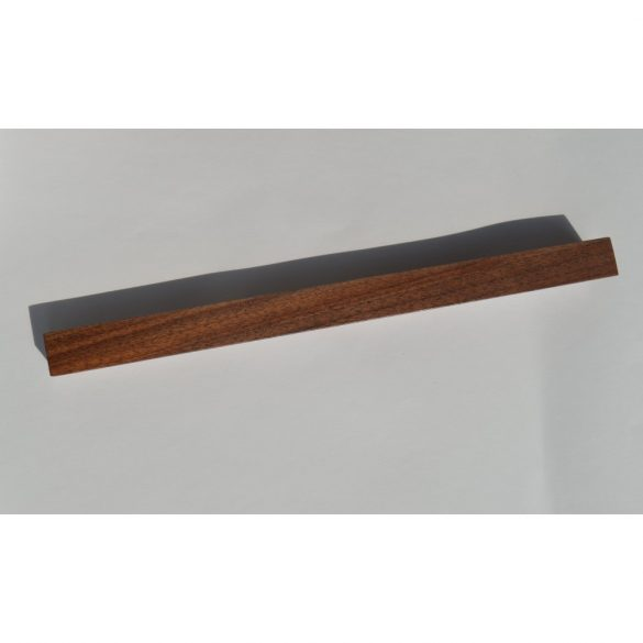 Wooden furniture handle, lacquered walnut