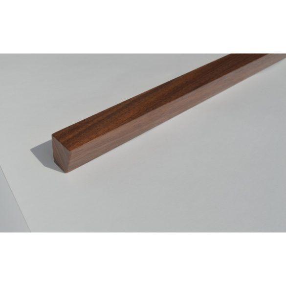 Möbelgriff aus Holz, Nussbaum lackiert