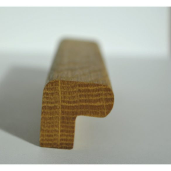 Fa bútorfogantyú, olajozott tölgy, 64-96-128 mm furattávval