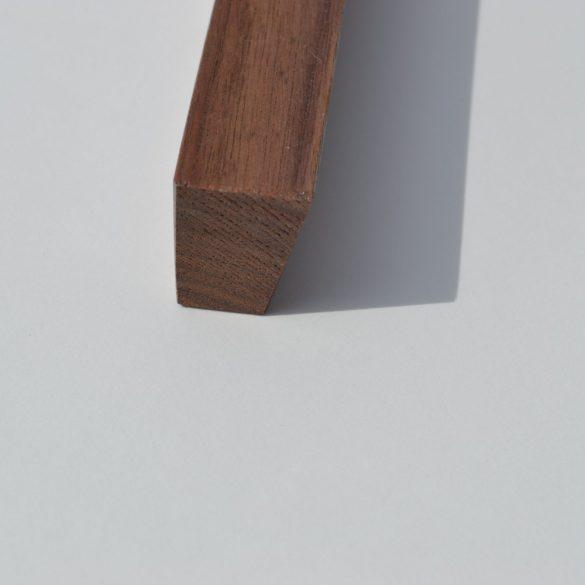 Fa bútorfogantyú, lakkozott dió, 64 - 96 -128 mm furattávval