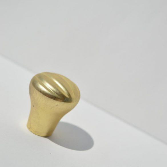 Fém bútorgomb, matt arany színű