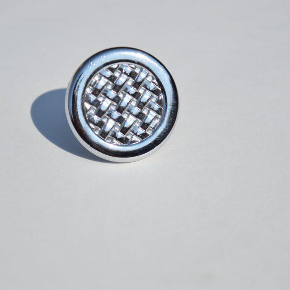 Classic style metal furniture knob in chrome colour