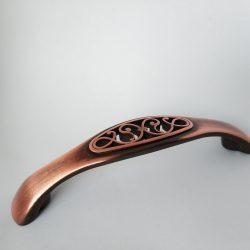 Messing antik, rustikal, glänzend, Bohrung 96 mm