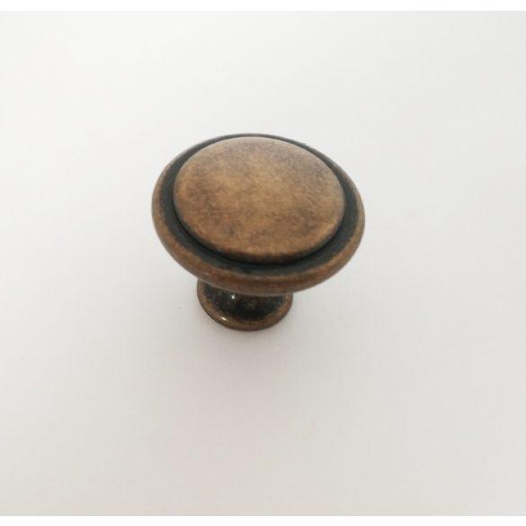 Knob furniture handle, Antique Bronze