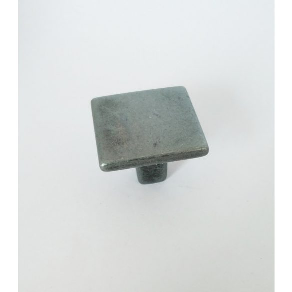 Rectangular furniture handle, Platina Nero