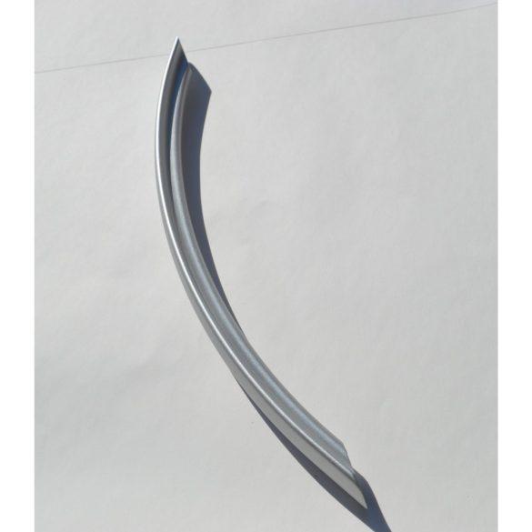Fém bútorfogantyú, matt króm színű, 224 mm furattávolság, modern