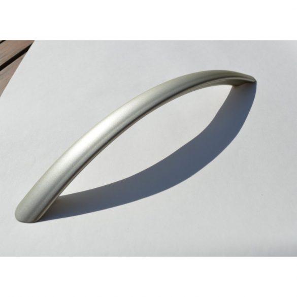 Fém bútorfogantyú, matt nikkel színű, 192 mm furattávolság, modern