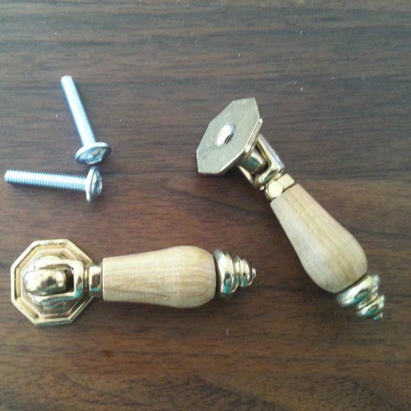 Handle Solid WOOD knobs