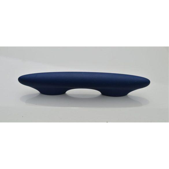 Velvet blue retro plastic furniture handle