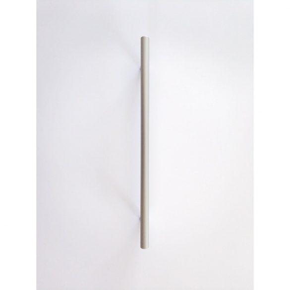 Fém bútorfogantyú, matt króm színű, 512 mm furattávolság, modern, rúd fogantyú