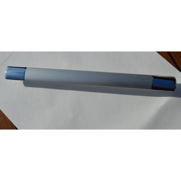 Metall-Möbelgriff, 352 mm Bohrung, Chrom matt - Chrom glänzend Enden