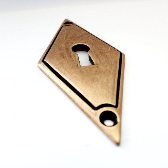 Kulcscímke, óarany színű, álló