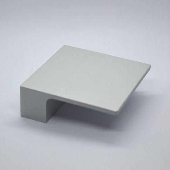 ALU Négyzetes bútorfogantyú, 32 mm furattáv