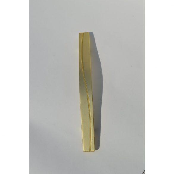 Fém Bútorfogantyú, matt arany, 128 mm furattáv