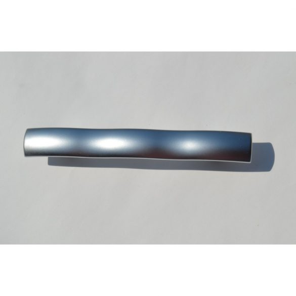 Silk gloss chrome coloured metal furniture handle