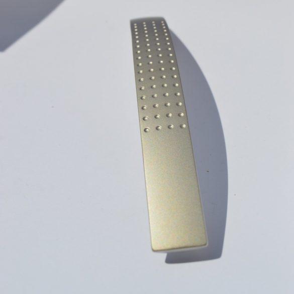 Fém Bútorfogantyú, 128 mm furattáv, matt nikkel szín