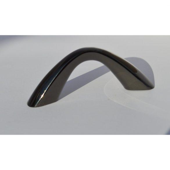 Black metal furniture handle