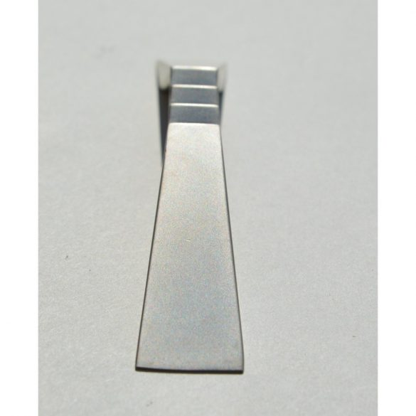 Metal furniture handle, matt nickel