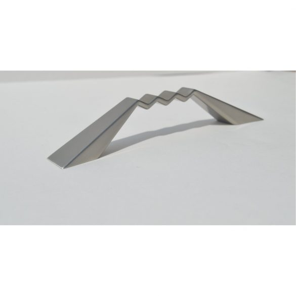 Elox Möbelgriff aus nickelfarbigem Metall
