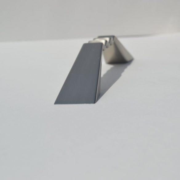 Fém Bútorfogantyú, Elox nikkel, 96 mm furattáv
