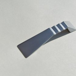 Metal furniture handles, Silk gloss chrome, 96 and 128 mm bore size