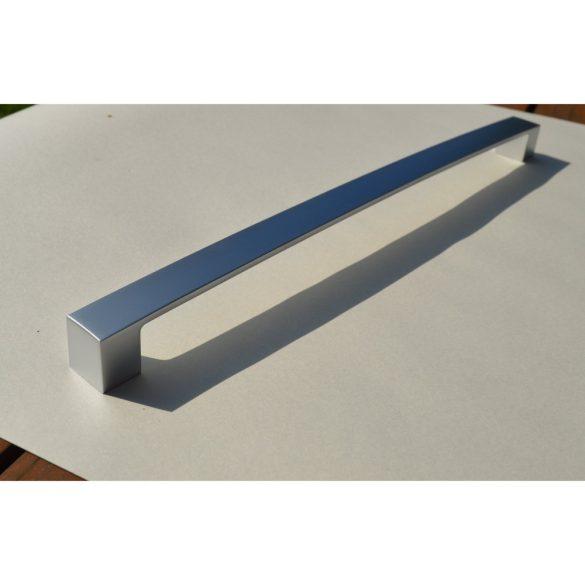 Fém bútorfogantyú, selyemfényű króm színű, 320 mm furattávval
