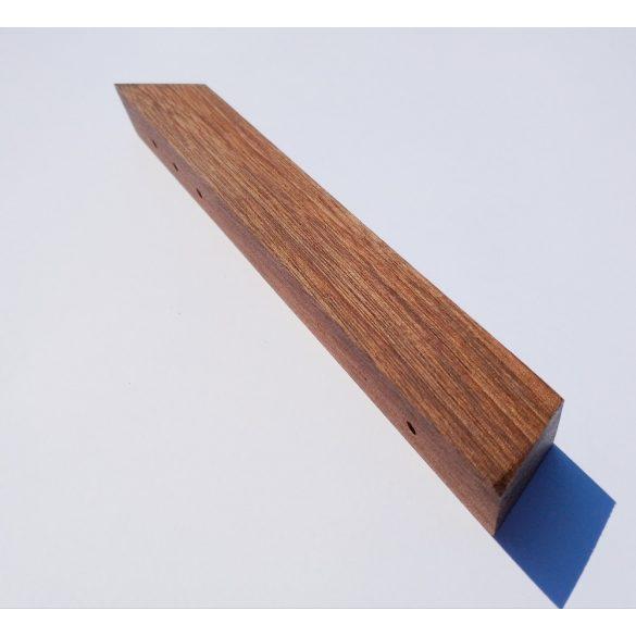 Fa bútorfogantyú, Olajozott Dió, 64, 96 és 128 mm furattávval kialakítva
