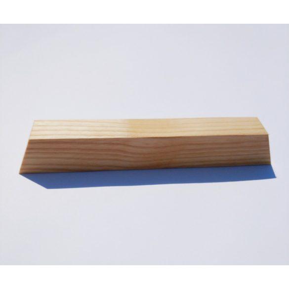 Fa bútorfogantyú, Olajozott Kőris, 64, 96 és 128 mm furattávval kialakítva